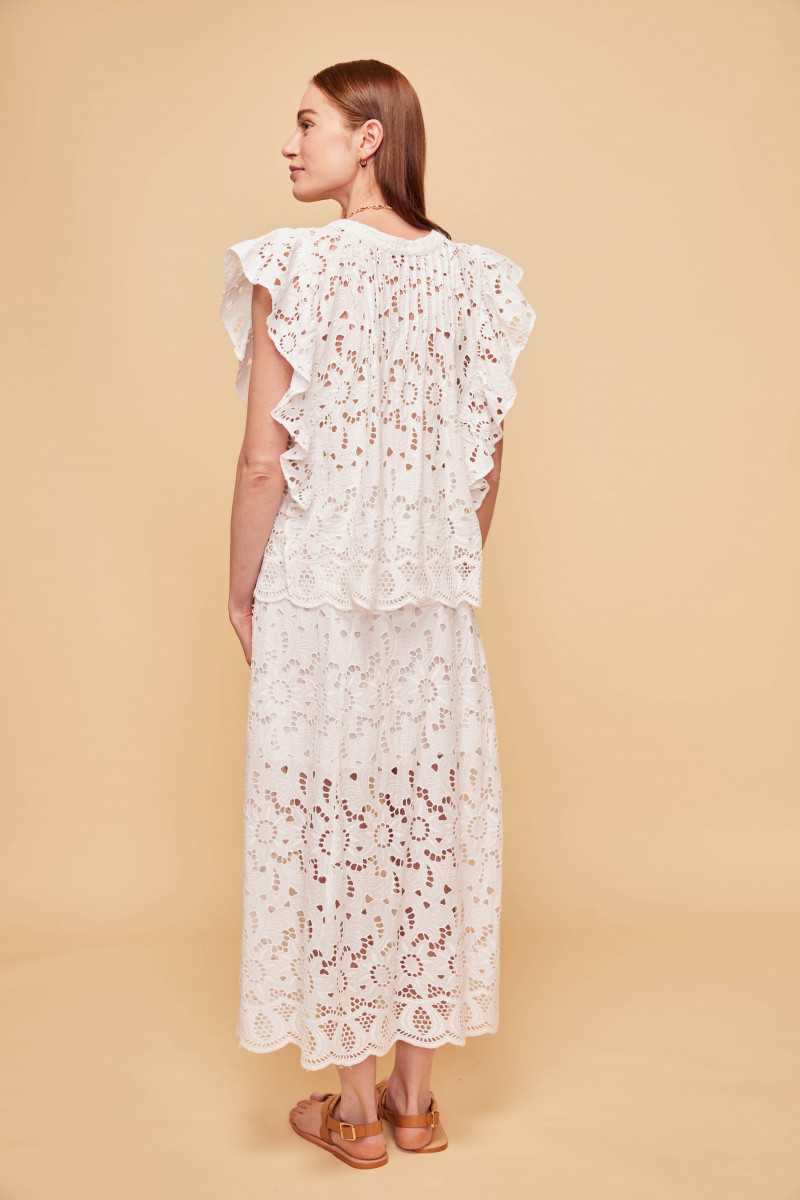 Montecarlo Embroidered Top