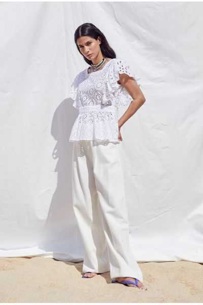 Paula Embroidered Top