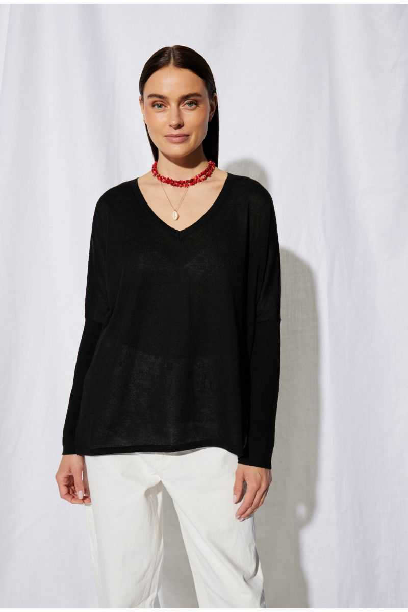 Pull Poncho Recycled Funa