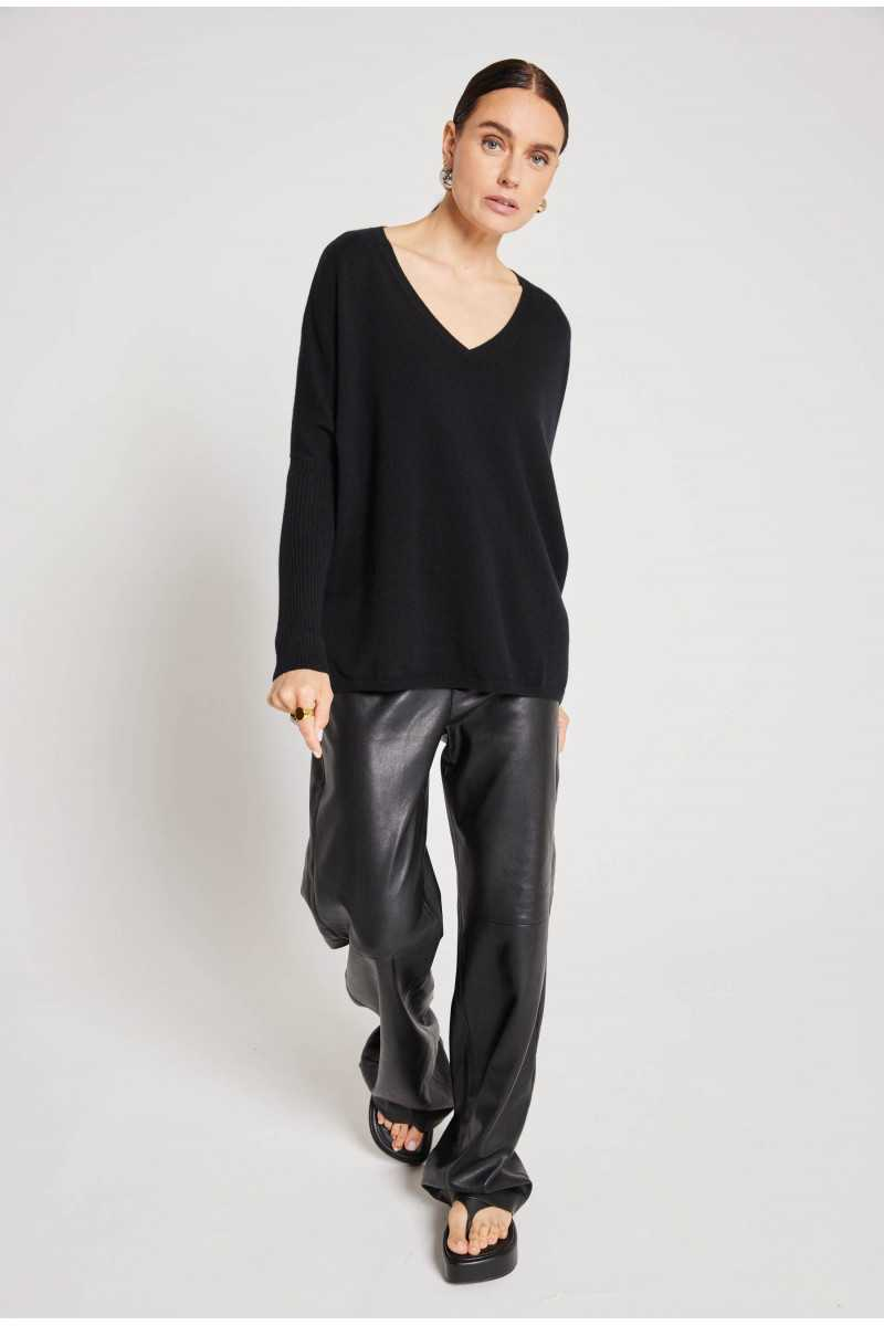 Pull poncho cachemire Faustine