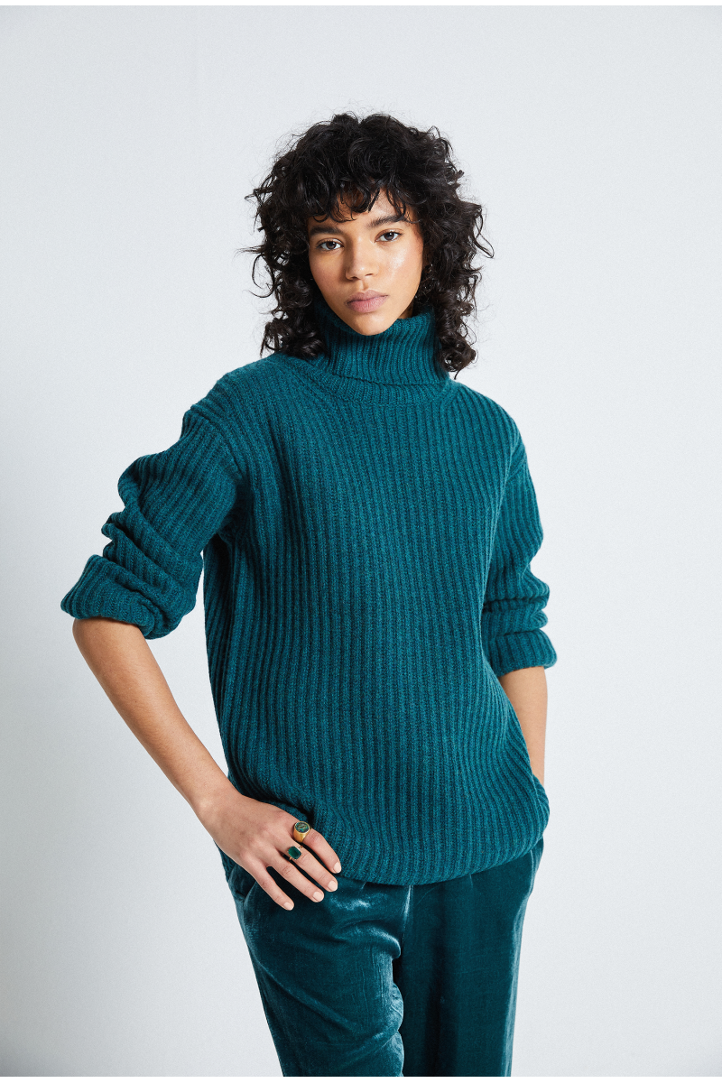 Pull laine maille anglaise Shayan
