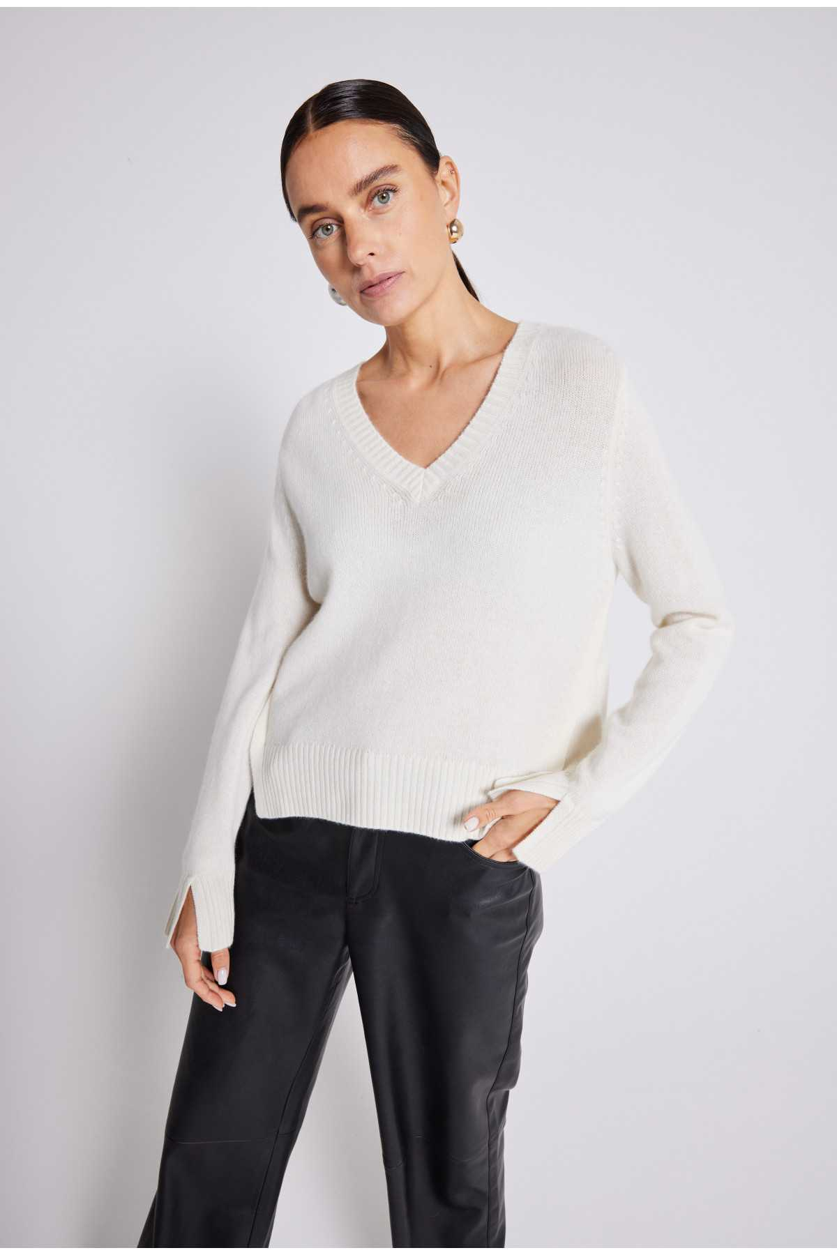 Pull cachemire Yseult