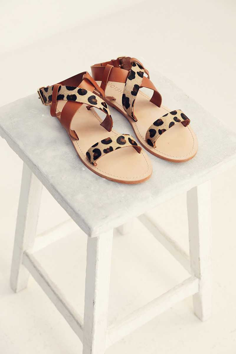 Sandals leather Lena NOTSHY