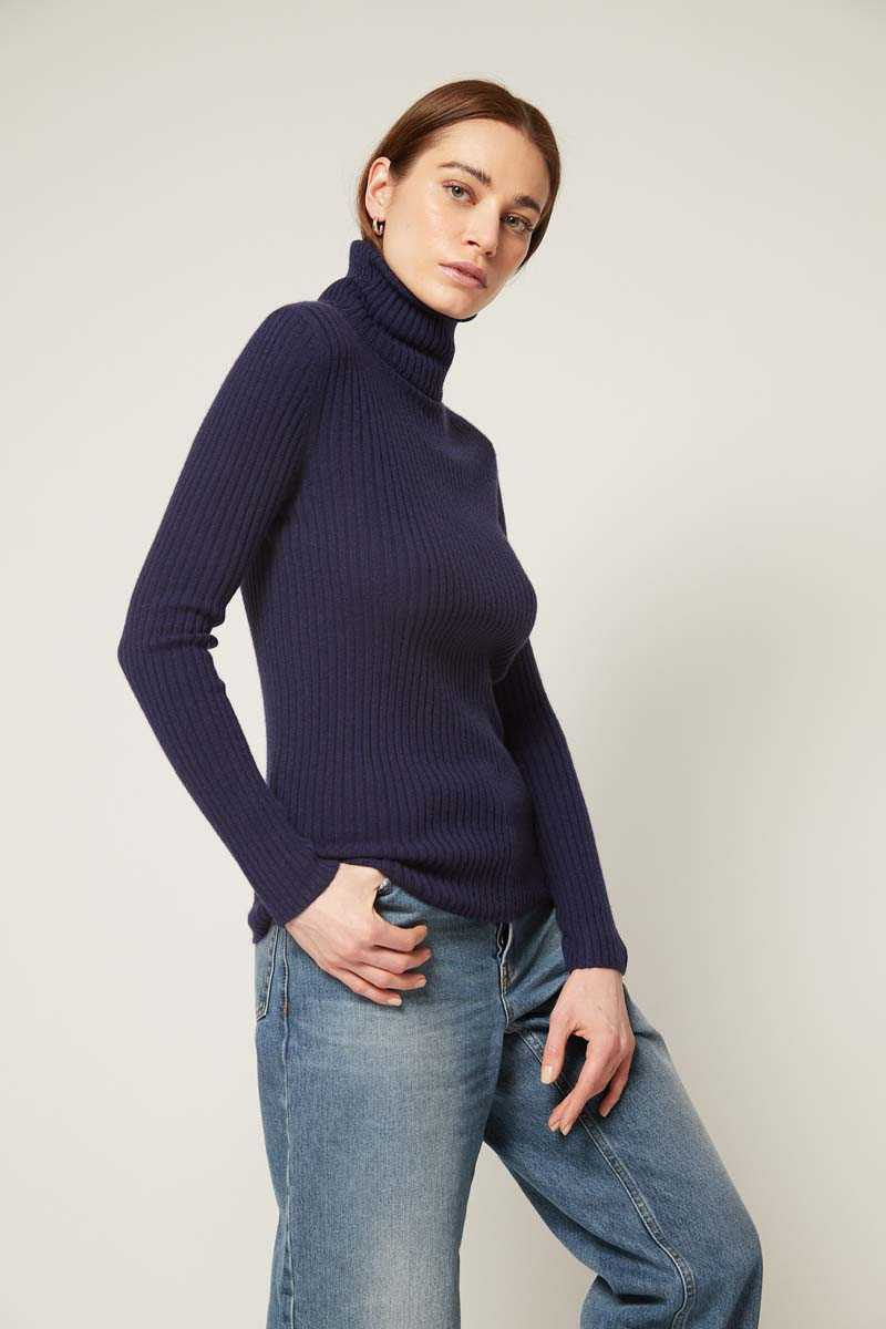 Hooded Collar Jumper