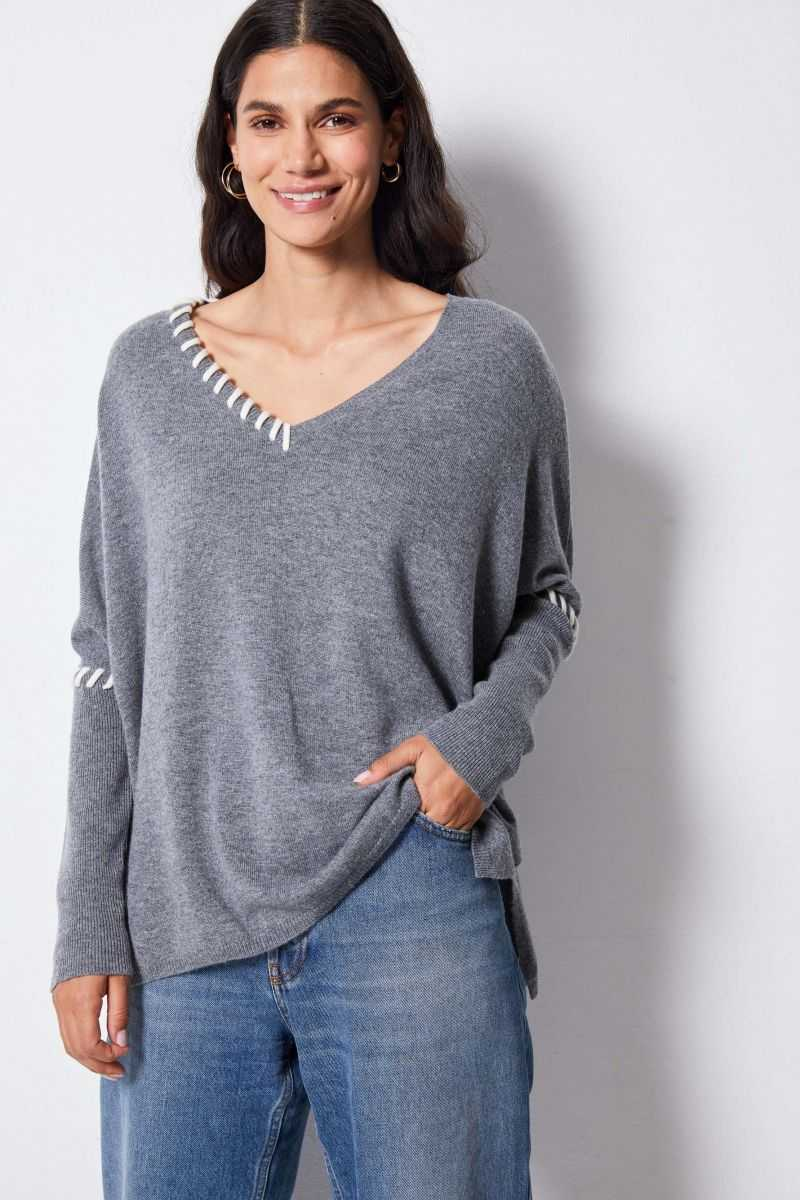 Pull Poncho Cachemire SOPHIE