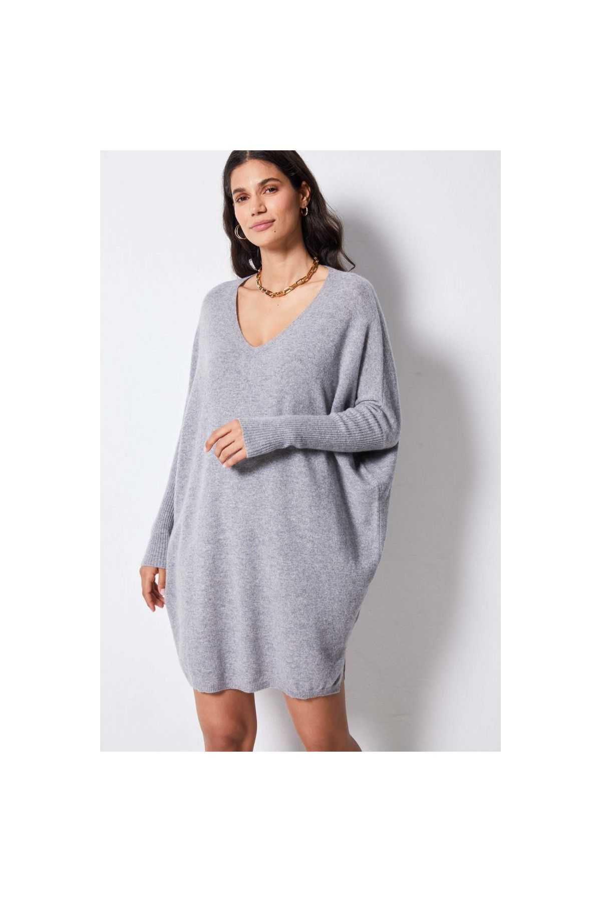 BELLA Cashmere Jumper Dress