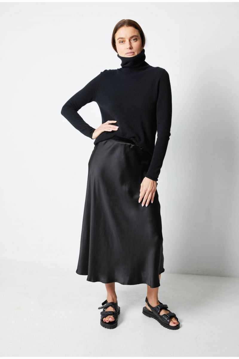 CHANTAL Silk Skirt