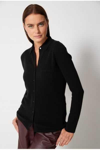 Chemise 100%cashmere 12gg